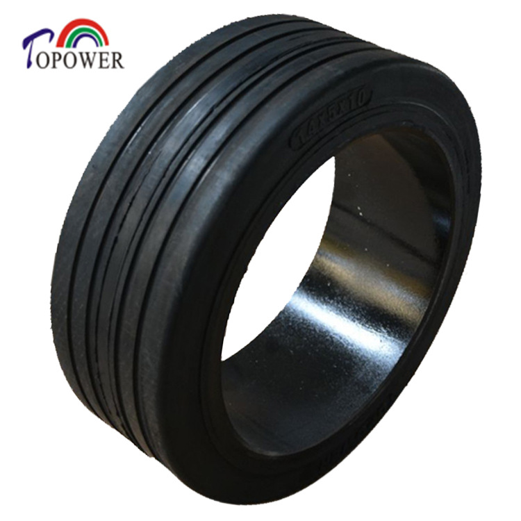 Press On Solid Tire TP 303 RIB 14x4 1/2x8 14x5x8 14x5x10 14X8X10