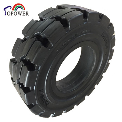 Solid tyres for forklift and small field TP312(size:4.00-8,15x41/2-8,5.00-8,6.00-9,6.50-10,6.50-16,7.00-9,7.00-12,7.00-15,8.25-20,16x6-8,250-15,355/65-15)